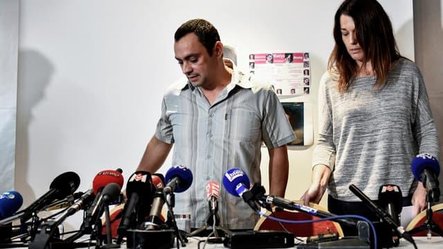 Joachim et Jennifer De Araujo, les parents de Maëlys.