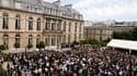 Dans une lettre adressée à François Fillon, le chef de l'Etat a confirmé l'annulation de la garden party du 14 juillet (en photo, celle de 2007) par souci d'économie. Il a en outre annoncé d'autres mesures de réduction du train de vie de l'Etat, notamment
