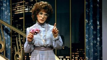 """Dustin Hoffman dans """"Tootsie"""" sorti en 1982."""