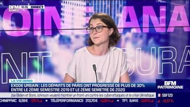 Marie Coeurderoy: Exode urbain, les départs de Paris ont progressé de plus de 30% - 10/06