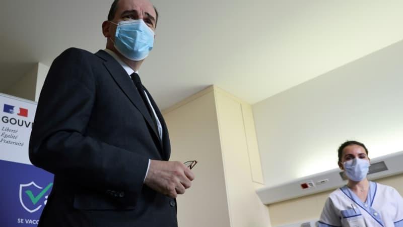 EN DIRECT - Castex exhorte les plus de 55 ans à se faire vacciner,