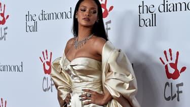 Rihanna le 12 décembre 2015