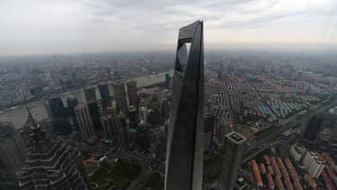 La tour de Shanghai mêle bureaux et appartements.