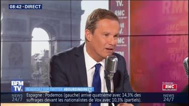 """Nicolas Dupont-Aignan: """"Tout est fait pour me faire taire"""""""