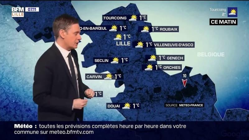 Météo Grand Lille du 27 février: un temps froid ce matin, jusqu'à 10°C cet après-midi avec du soleil