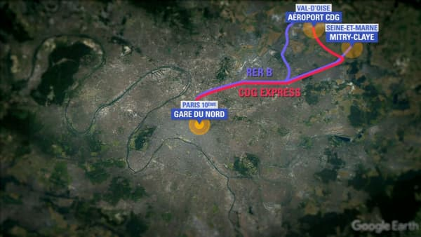 Le CDG Express soit relier Paris à Roissy à l'horizon 2024.