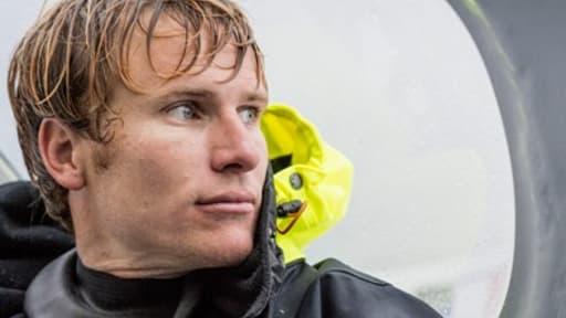 François Gabart, première participation au Vendée Globe et premier parcours sans faute.