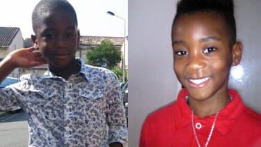On est toujours sans nouvelle des petits Andy (à gauche) et Erane-David (à droite), disparus samedi près de Bordeaux.