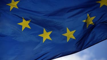 Le drapeau européen - Image d'illustration