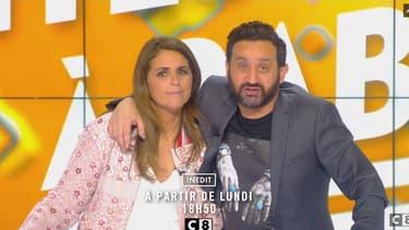 """Valérie Benaïm et Cyril Hanouna animent à partir de ce lundi soir """"Dites-le à Baba!""""."""