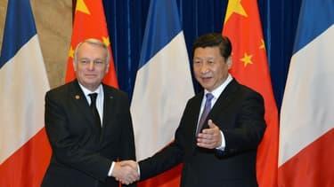 Jean-Marc Ayrault est en visite en Chine depuis jeudi 5 décembre.