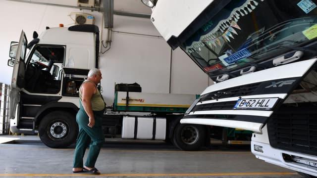Les routiers de ces deux pays craignent qu'un durcissement de la directive sur le travail détaché impacte leur activité