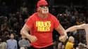 Hulk Hogan lors d'un match à Cleveland.