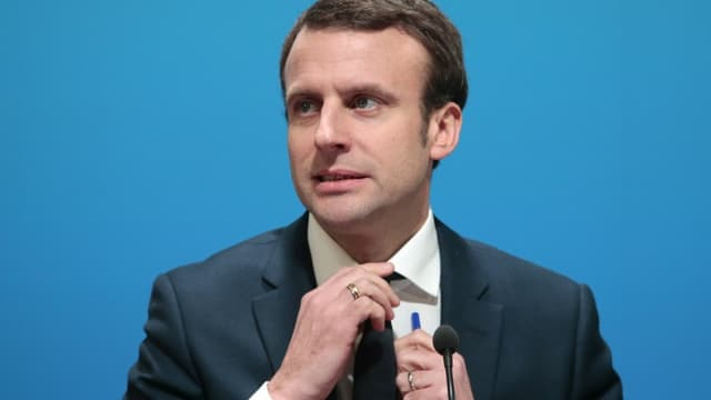 Le ministre de l'Economie Emmanuel Macron