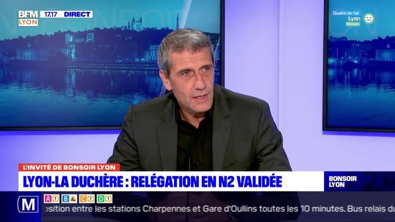 Lyon-La Duchère relégué en National 2: le président estime que le club manque d'infrastructures