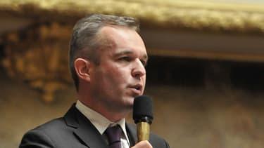 François de Rugy à l'Assemblée nationale.