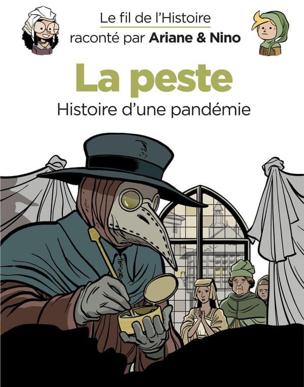 """Couverture """"La Peste - histoire d'une pandémie"""""""