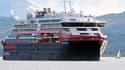 Le MS Roald Amundsen de la compagnie Hurtigruten (image d'illustration)