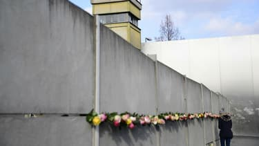Le mémorial du mur de Berlin. Photo d'illustration