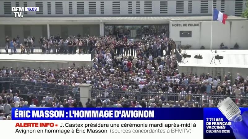 Jean Castex présidera une cérémonie mardi après-midi à Avignon en hommage à Éric Masson