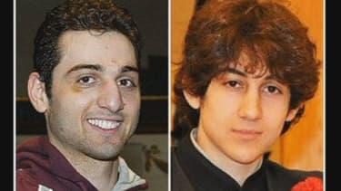 Tamerlan et Djokhar Tsarnaev