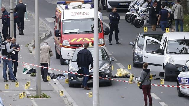 C'est ici, sur l'Île-Saint-Denis, qu'a eu lieu lundi une fusillade entre malfaiteurs et policiers.