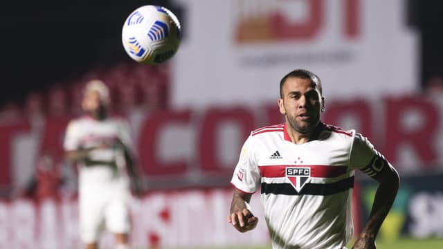 Dani Alves avec Sao Paulo