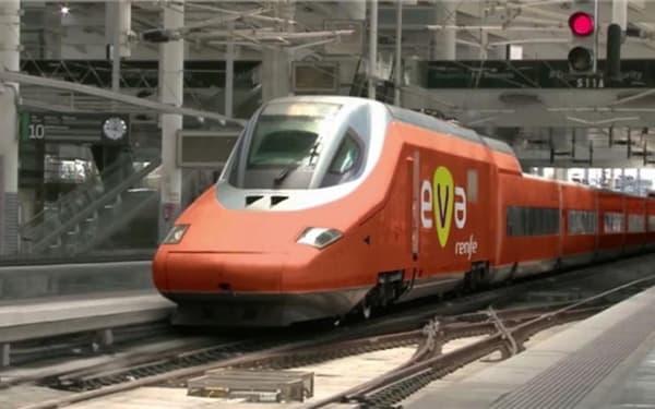 Le TGV EVA