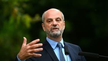 Le ministre de l'Éducation nationale Jean-Michel Blanquer  à Paris, le 26 août 2021