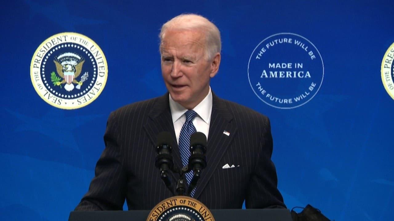 """Joe Biden à propos du Covid-19: """"Je suis convaincu que d'ici l'été, nous serons sur la bonne voie pour nous diriger vers l'immunité collective"""""""