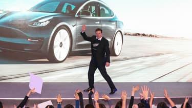 Elon Musk, le patron de Tesla, photographié ici début janvier.