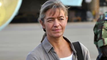 La ressortissante suisse, Béatrice Stockly, le 24 avril 2012 à Ouagadougou, au Burkina Faso