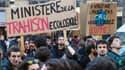 Une manifestation pour le climat - Image d'illustration