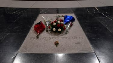 La tombe de Franco