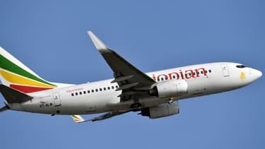 Un Boeing 737 de la compagnie Ethiopian Airlines à Abidjan en Côte d'Ivoire, en novembre 2017