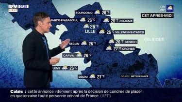 Météo: des nuages et des averses malgré quelques éclaircies ce samedi dans la région lilloise