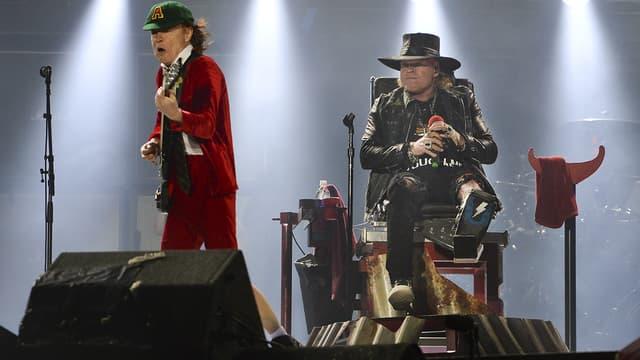 AC/DC en concert à Lisbonne le 7 mai 2016