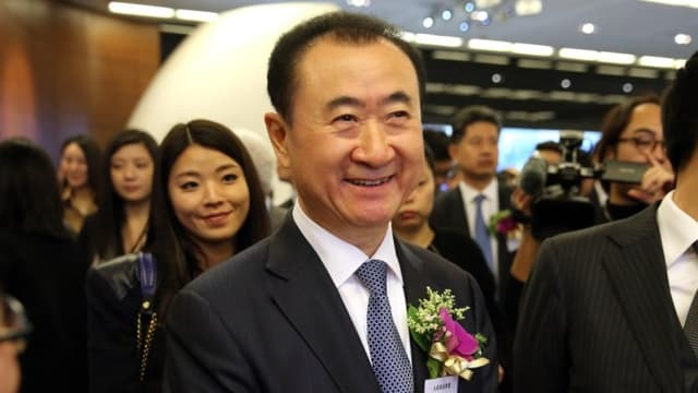 Wang Jianlin est à la tête du conglomérat Wanda
