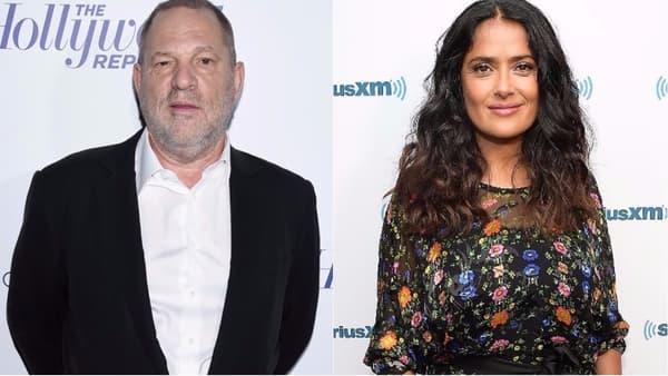 Harvey Weinstein et Salma Hayek