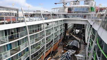 Le ministre de l'Economie, Bruno Le Maire, devrait confirmer une commande de trois paquebots par l'armateur MSC Cruises, pour un montant de plus de trois milliards d'euros et demie.