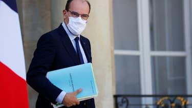 Le Premier ministre Jean Castex à l'Elysée, le 22 septembre 2021