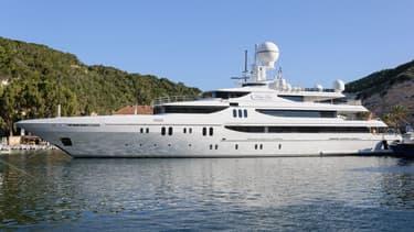 Le super-yacht Lady Lau