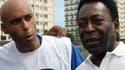 """""""Edinho"""" et son père Pelé"""