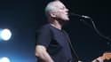 David Gilmour, guitariste et chanteur de Pink Floyd, en 2006 au Grand Rex.
