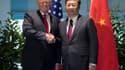 Le président américain, Donald Trump, et son homologue chinois, Xi Jinping, le 8 juillet 2017 à Hambourg, en Allemagne