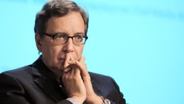 Nonce Paolini, le PDG du groupe TF1, est inquiet pour l'avenir de LCI.