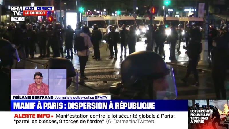 """Loi """"sécurité globale"""": retour sur une journée de tensions dans les rues de Paris"""