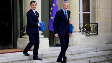 """Bruno Le Maire pour un """"dispositif d'évaluation"""" d'ici 2 ans des réformes fiscales."""