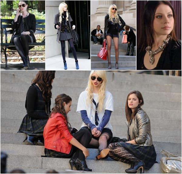 """Le style rock dans """"Gossip Girl"""""""