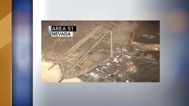 La zone 51 vue depuis le ciel